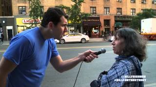 Billy On the Street: Quizzed in the Face with Elena