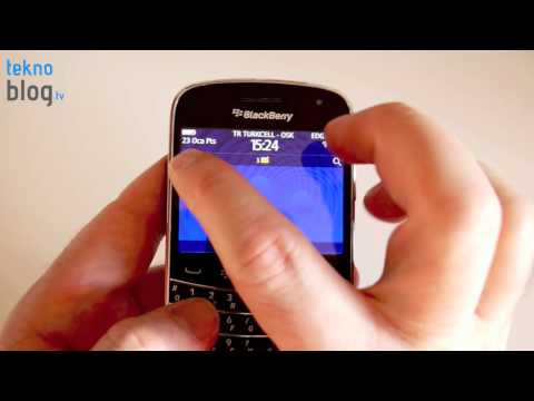 BlackBerry Bold 9900 İncelemesi