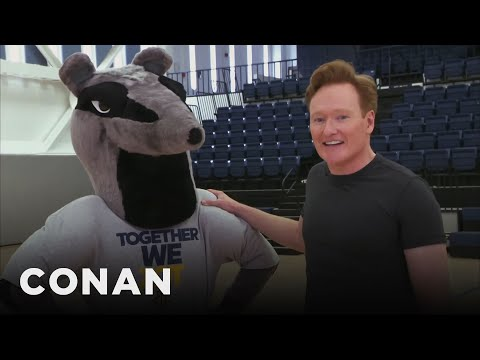 Conan Improves UC Irvine's School Mascot  - CONAN on TBS