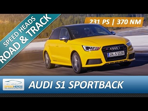Audi S1 Sportback Test (231 PS) - Fahrbericht - Review (German)