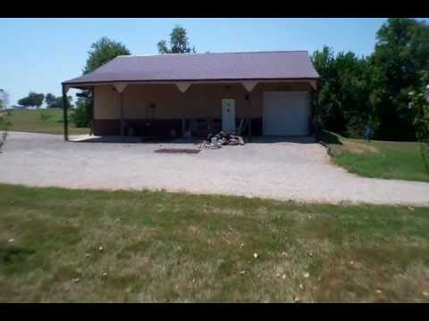 Brick stone custom built home on 5 acres with 30x50 for Housse 30x50