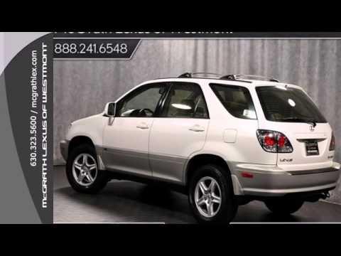 2003 Lexus RX 300 Westmont IL Chicago IL P10977  SOLD  YouTube