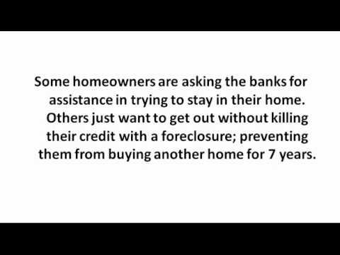 Foreclosures Best Option