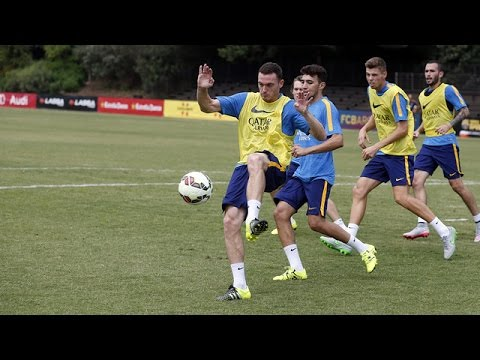 FC Barcelona US Summer Tour: Thomas Vermaelen (ENG)