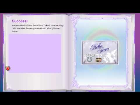 entering bella sara cards! - YouTube