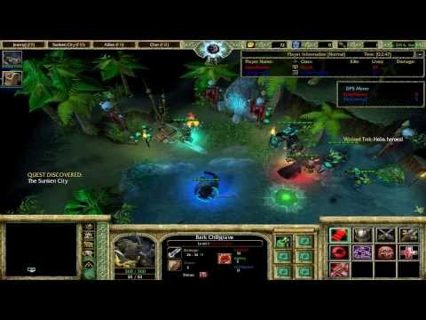 WarCraft 3 Modding World : Sunken City [ Developers Insight ]