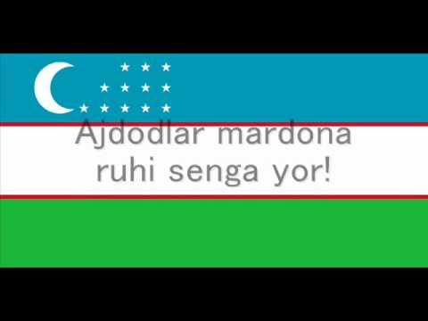 """""""O'zbekiston Respublikasining Davlat Madhiyasi"""" - National Anthem of Uzbekistan"""