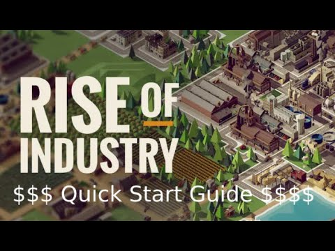 Rise of industry Starting Hints & Tips |