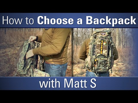 How To Choose A Backpack - With Matt S - OpticsPlanet.com