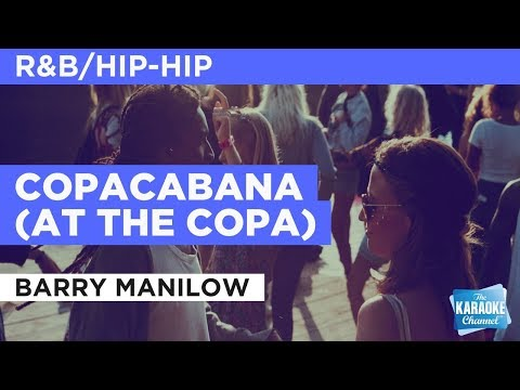 """Copacabana (At The Copa) in the Style of """"Barry Manilow"""" with lyrics (no lead vocal)"""