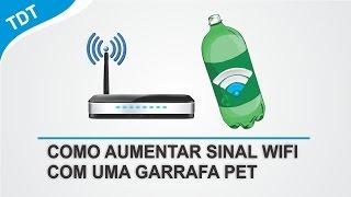 Como Aumentar Alcance do Sinal WiFi Com Uma GARRAFA PET