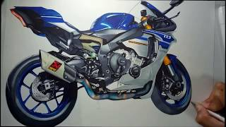 Drawing YAMAHA R1 2016(ไทย)