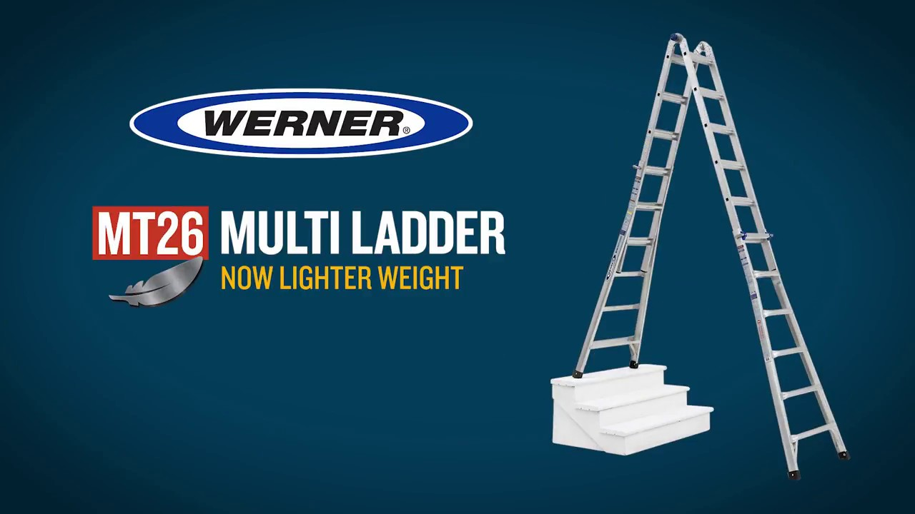 Werner Mt26 Multi Purpose Ladder