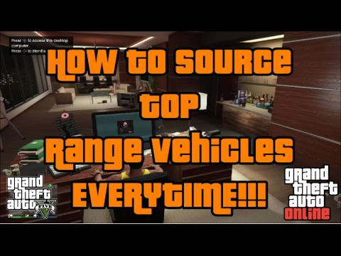 How to Source Top Range Vehicles ONLY - Import / Export DLC Tip