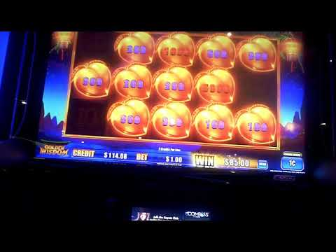 Golden Wisdom Golden Tiger Slot Machine BIG WIN Bonus(3)