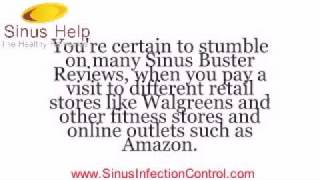 SINUS BUSTER REVIEWS - What is Sinus Buster?