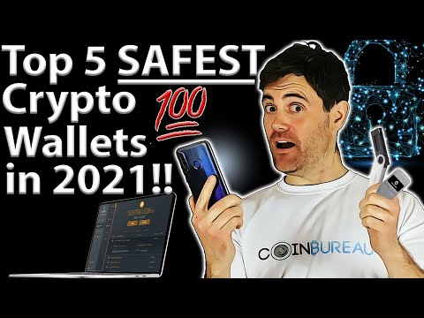 BEST Crypto Wallets 2021: Top 5 Picks 🔓