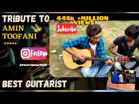 Tribute To Amin Toofani | Best Indian Guitar Player | Akash & Naren | India's Amin Toofani