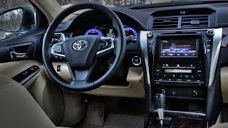 Самые важные изменения в Тойота Камри 2015! Обзор интерьера Toyota Camry (ч.5)