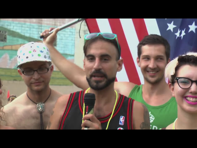 Philly Naked Bike Ride 2014 [Scrapple Doc]