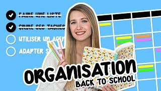 10 astuces d'organisation et de productivité! | BACK TO SCHOOL 2019