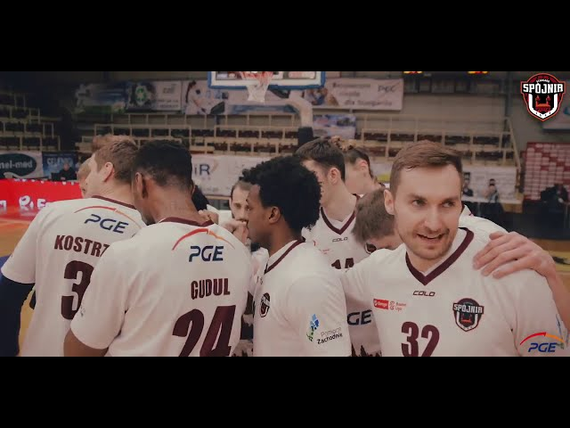 Skrót meczu PGE Spójnia Stargard - Enea Zastal BC Zielona Góra