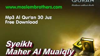 Download Complete Mp3 Al Qur'an 30 Juz - Syeikh  Maher Al Muaiqly