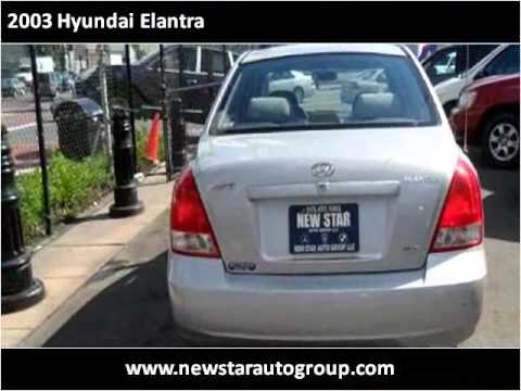 2003 Hyundai Elantra Used Cars Newark NJ