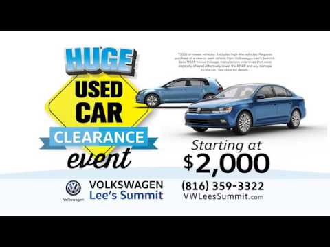 VW Lee's Summit Buy Back Promotion