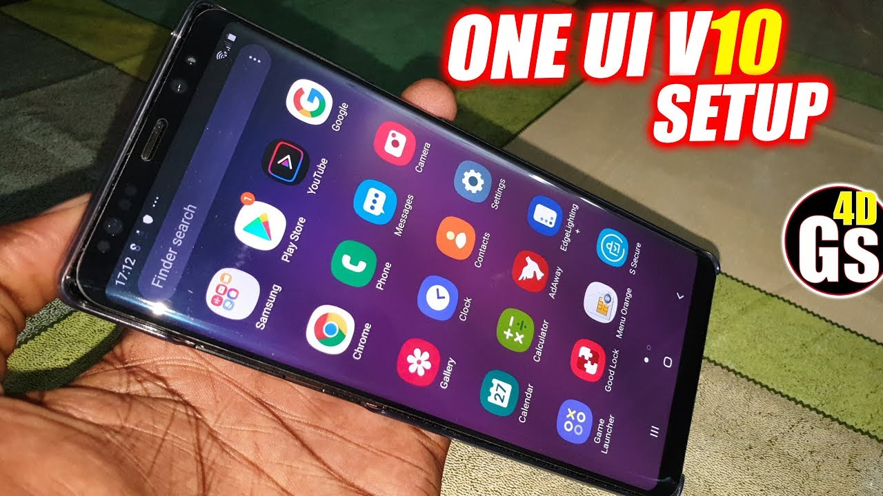 Install Galaxy S10 PLus Rom on Note8/S8/S8+ HadesRom v10