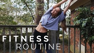My Fitness Routine | Kristin Lauria