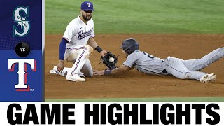 Mariners vs. Rangers Game Highlights (7/31/21)