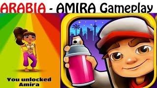 Мультик для детей ИГРА Subway Surfers Amira