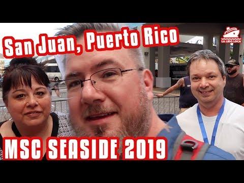 San Juan, Puerto Rico - MSC Seaside Cruise Vlog 2019