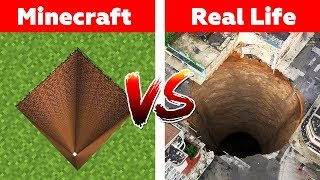 WAY TO NETHER IN REAL LIFE! Minecraft vs Real Life animation