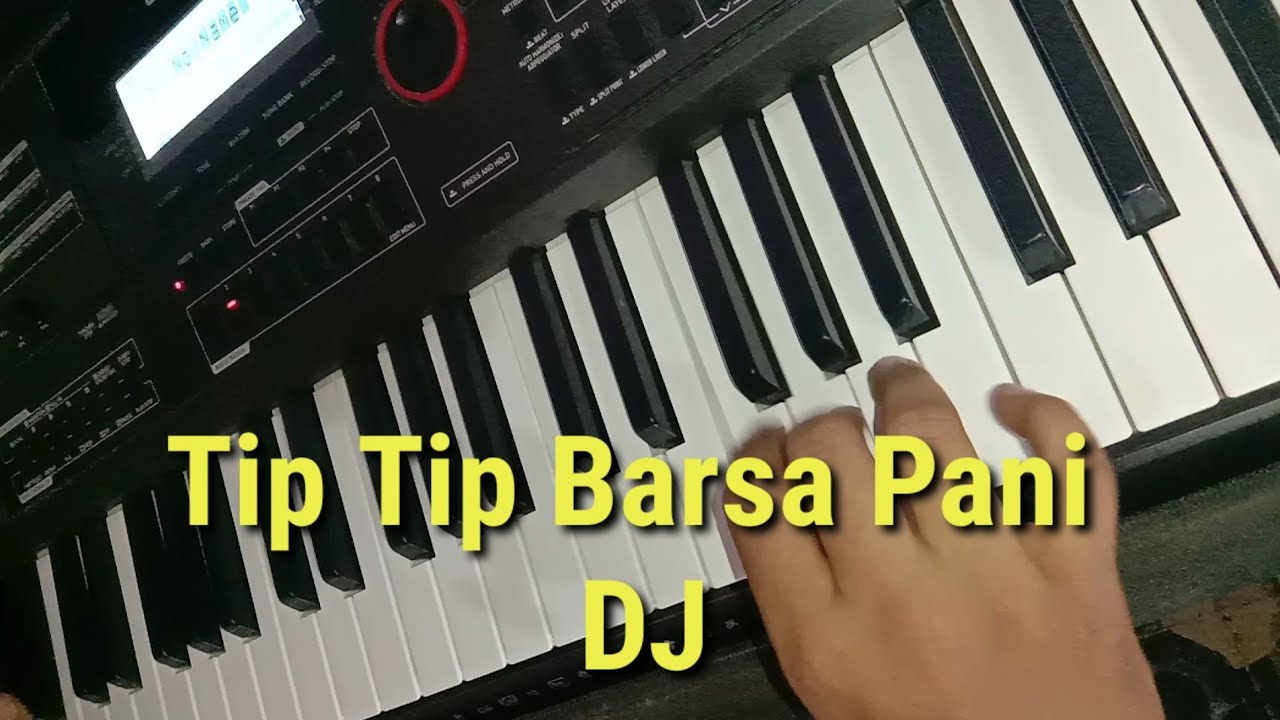 Tip Tip Barsa Pani Piano #Shorts   DJ version   Chirag All Types Video