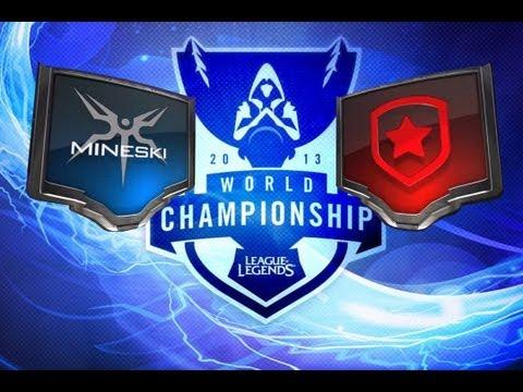 LOL - Mineski vs Gambit - Season 3 World Championship D4G3 Highlights