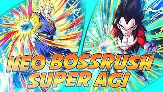 DBZ DOKKAN BATTLE FR | SPEEDRUN SUPER AGI VS BOSS RUSH SUPER 3! SV 100% LE MONSTRE!