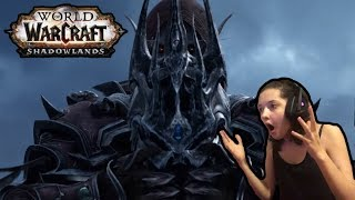 World of Warcraft SHADOWLANDS Cinematic Trailer REACTION! (New Expansion) 2020 | Missy Moo Moo