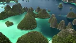Kayaking Raja Ampat West Papua - Drone images