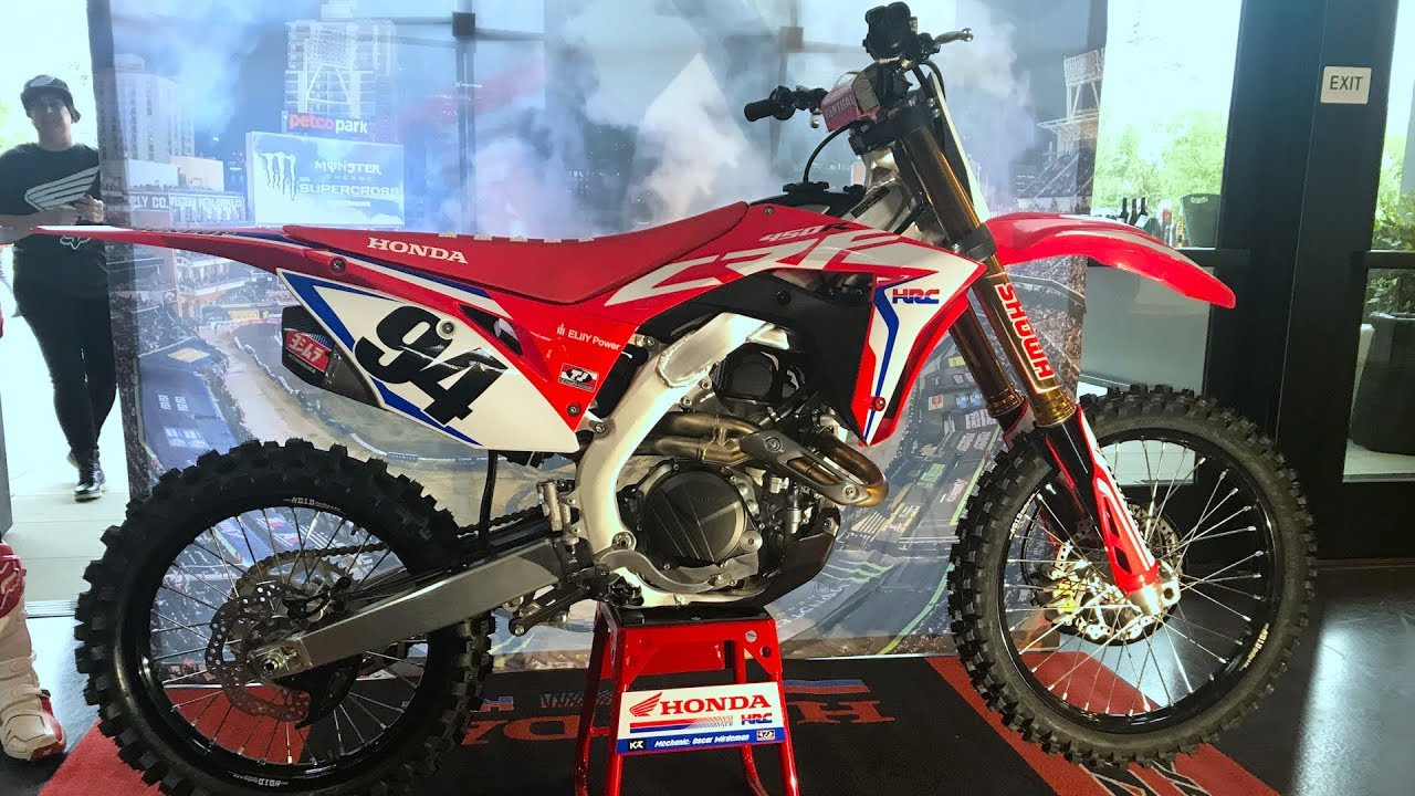 First Look 2019 Honda Crf450r Works Edition Motocross Action