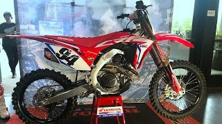 First Look 2019 Honda CRF450R Works Edition - Motocross Action Magazine