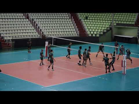 RÁDIO MARINGÁ.com.br - Denk Maringá Vôlei treina no Ginásio Chico Neto