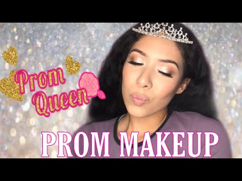 Simple and affordable prom makeup