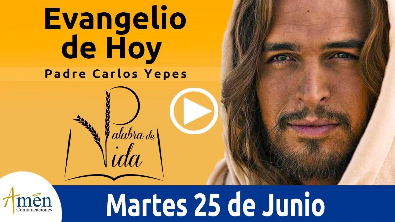Evangelio de Hoy Martes 25 de Junio de 2019 l Padre Carlos Yepes