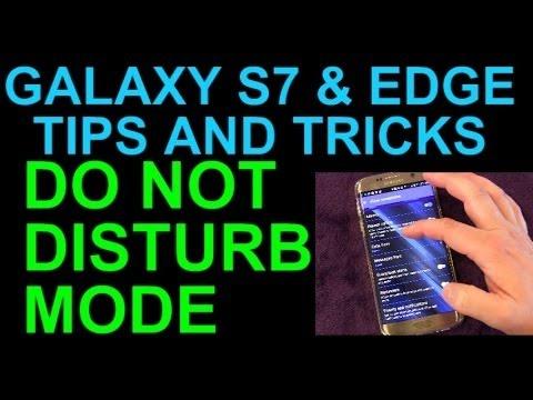 Galaxy S7 Do Not Disturb