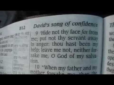 Psalm 27 King James Holy Bible