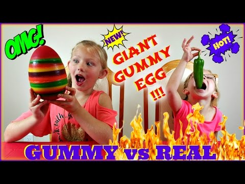 Thumbnail: REAL FOOD vs GUMMY FOOD CHALLENGE - Magic Box Toys Collector