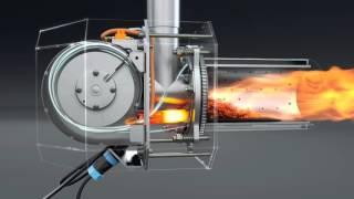 Pellet burner. Пеллетная горелка для котла  http://kipi.pl/  Польша.(, 2015-10-06T14:45:54.000Z)