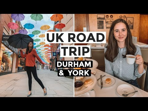 UK ROAD TRIP: Durham And York, England Travel Vlog | National Railway Museum & York Minster (Part 7)